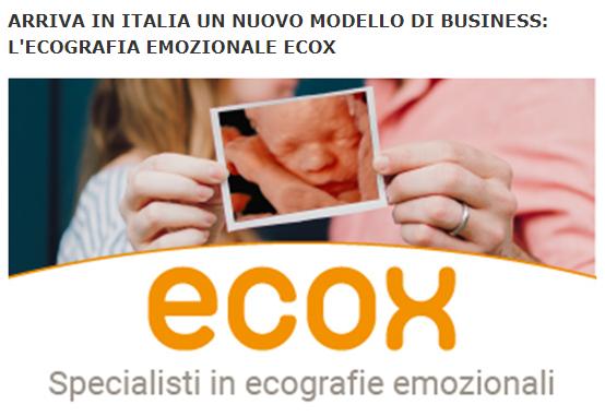 Un nuevo modelo de negocio llega a Italia: Ecox ecografía emocional