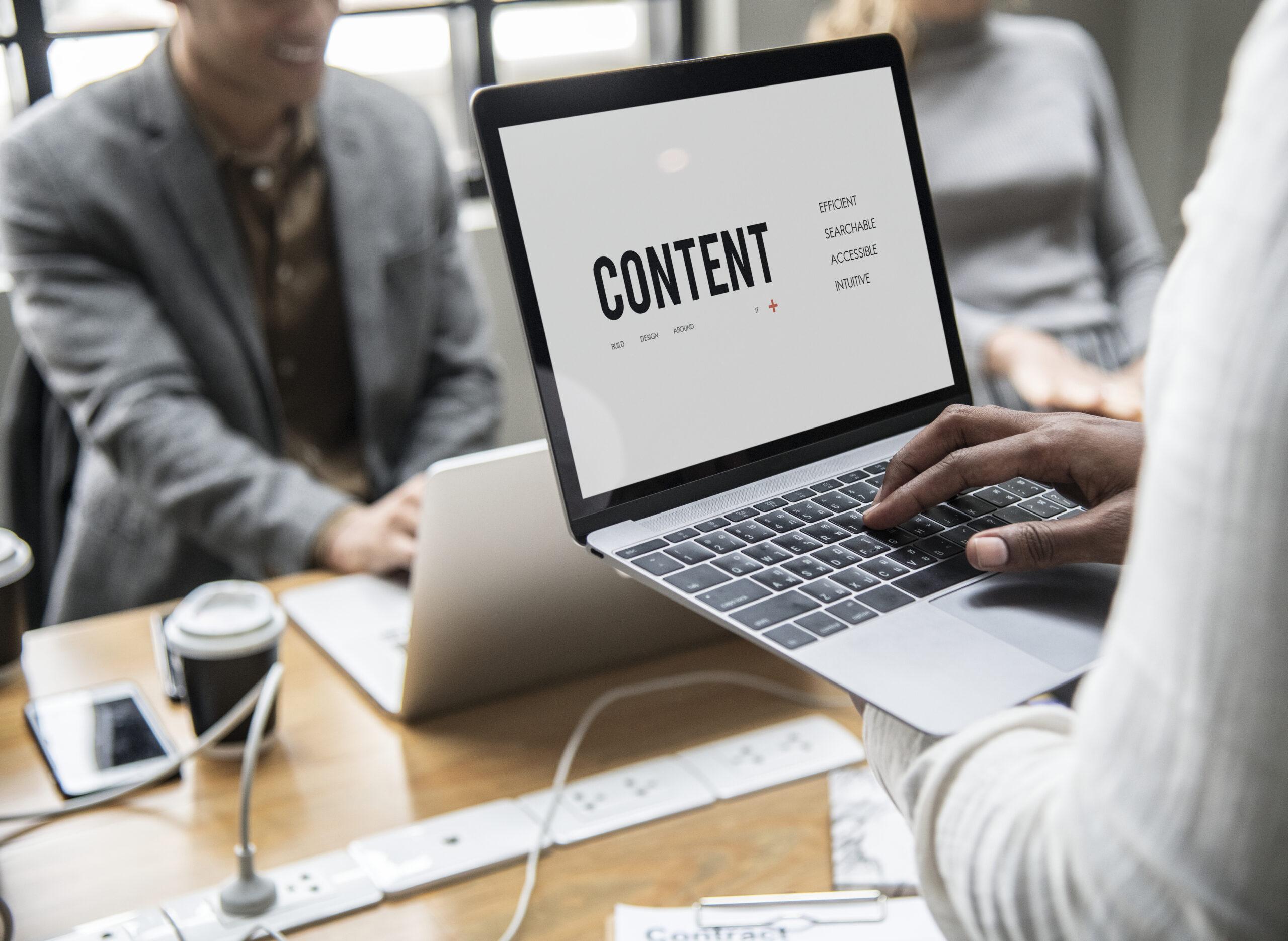 Tipos de contenidos de alto impacto para tu presencia digital sanitaria